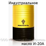 Индустриальное масло, И-20А - 216,5 литров фото