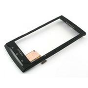 Тачскрин (сенсорное стекло) для Sony X10 black фото
