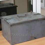 Коптильня горячего копчения из обычной стали, 450х300х250 фото