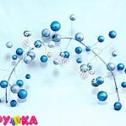 Гроздь шаров новогодние 52-00170-042 фото