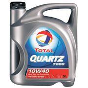 Масло моторное TOTAL QUARTZ 7000 10w40 SL\CF 4 литра фото