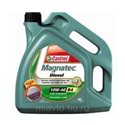 CASTROL Magnatec Diesel SAE 10W-40 B4 4 литра Полeсинтетическое масло фото