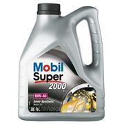 Моторное масло Mobil 10W40 Super 2000 X1 4л фото