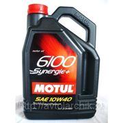 MOTUL 6100 synergy+ 10W40 4л. фото