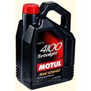 MOTUL 4100 Turbolight 10W40 4л. фото