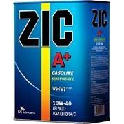 Масло моторное ZIC A + 10w40 SL 6 литров фото