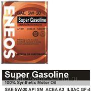 Масло моторное ENEOS Super Gasoline SAE 5w30 API SM 100% синтетика 1 литр фото