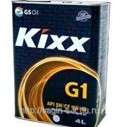 Масло моторное KIXX G1 SN 5w40 4 литра фото