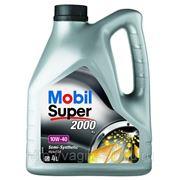 Масло моторное Mobil Super 2000 10w40 SL\CF 4 литра фото