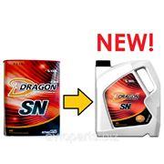 Моторное масло Dragon 10W40 SN 4л фото