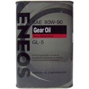 Масло трансмиссионное ENEOS Gear Oil SAE 80w90 API GL-5 4 литра фото
