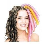 Волшебные бигуди Magic Leverage роскошные локоны 18шт (на длинные волосы) фото
