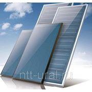Плоский солнечный коллектор 1×2 м фото