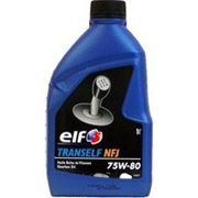 Масло трансмиссионное ELF TRANSELF NFJ 75w80 GL-4 1 литр фото