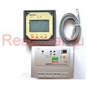 Контроллер заряда EPSolar Tracer MPPT 1210RN 10A Input 100V +LCD remote meter фото
