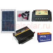 Солнечная электростанция для дачи 1200Вт Союз EX-100Вт 12В 100 А/ч