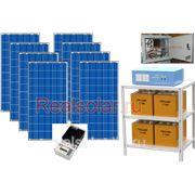 Солнечная электростанция для дома 1840Вт 4.5кВт МАП SIN 48В 225 А*ч