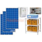 Солнечная электростанция для дома 690Вт 3кВт МАП SIN Pro 24В АКБ 450 А*ч фото