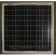 Монокристаллическая солнечная батарея 40Вт. SW040М фото