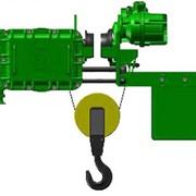 Взрывозащищенный канатный электротельфер серия ВТ. С монорельсовой тележкой уменьшенная строительная высота фото