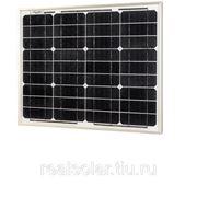 Солнечная батарея 30 Вт Ватт ФСМ-30P поликристаллическая фото