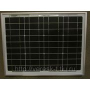 Монокристаллическая солнечная батарея 30Вт. SW030М фото