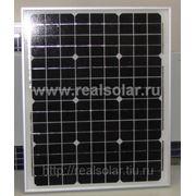 Солнечная батарея 30 Вт ватт RS-30M12-EX монокристаллическая фото