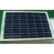 Поликристаллический солнечный модуль 20Вт GSМG-020P фото