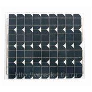 Монокристаллический солнечный модуль 40 Вт GSMG-040D фото