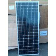 Солнечные батарея 100 ватт 12В Poly Full Black КПД 19% фото