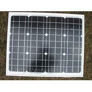Солнечная батарея 40Вт MMSM40M. Монокристаллическая. фото