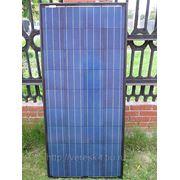 Солнечная батарея 110Вт all black. Поликристалл. фото