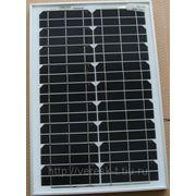 Солнечный модуль 20Вт GSМG-020D монокристаллический фото
