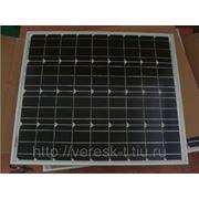Монокристаллический солнечный модуль 50Вт GSMG-050D фото