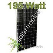 Солнечная панель монокристалл 195вт фото