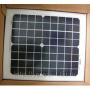 Монокристаллический солнечный модуль 10Вт GSМG-010D фото