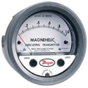 Показывающий датчик напоромер Magnehelic серии 605 фото
