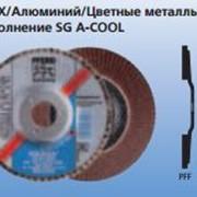 Лепестковые шлифовальные круги POLIFAN Профессиональная линия SG INOX/Алюминий/Цветные металлы Исполнение SG A-COOL фото