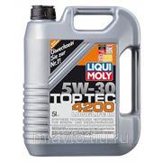Liqui Moly Top Tec 4200 5W-30 5 литров НС-синтетическое масло фото