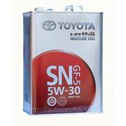 Масло Toyota SN 5W30 фото