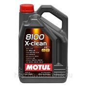 MOTUL 8100 X-clean 5W40 5л. фото