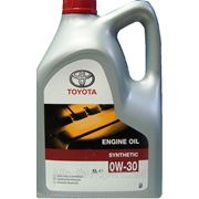 Моторное масло TOYOTA MOTOR OIL 0W30 SL/CF 5л фото