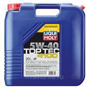 Liqui Moly Top Tec 4100 5W-40 20 литров НС-синтетическое масло фото