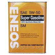 Моторное масло ENEOS 5W50 SUPER GASOLINE SM 4л фото