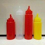 Пластиковые бутылочки объёмом 450мл и 600мл. фото