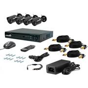 Комплект видеонаблюдения Страж Контрол 4У+ фото