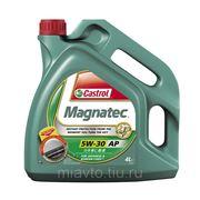 CASTROL Magnatec SAE 5W-30 AP 4 литра Полностью синтетическое масло фото