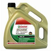 CASTROL EDGE Turbo Diesel SAE 0W-30 4 литра Полностью синтетическое масло фото