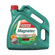 CASTROL Magnatec SAE 5W-40 A3/B4 4 литра Полностью синтетическое масло фото