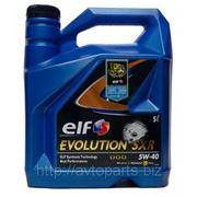 Моторное масло ELF 5W40 EVOLUTION SXR 4л фото
